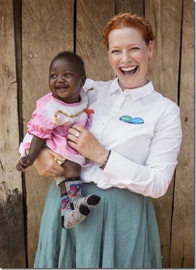 Pampers für UNICEF 2018: Projektreise nach Kenia mit Aktionsbotschafterin Enie van de Meiklokjes