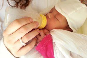 Hilfe mein Baby… Ernährungsprobleme von Babys